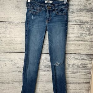 Hollister Skinny Ripped Jeans